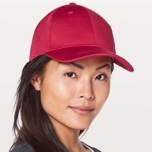 Lululemon Baller Hat in Ruby Red
